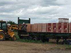 Unloading blocks