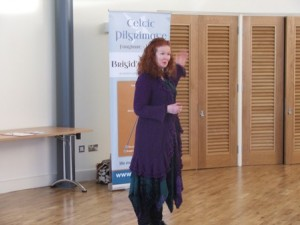 "Karen Ward, speaks about ""Brigid's Way"" - a walking pilgrimage from Brigid's holy well in Faughart, County Louth to Brigid's monastic city in Kildare Town.  For enquiries or to book:  www.brigidsway.ie"