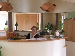 Theresa McAuliffe, Solas Bhride Team welcomes visitors to Solas Bhride