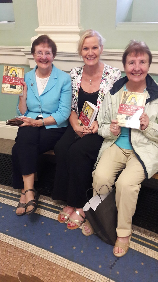 "Launch of Book ""St. Brigid of Kildare – Life, Legend and Cult"""