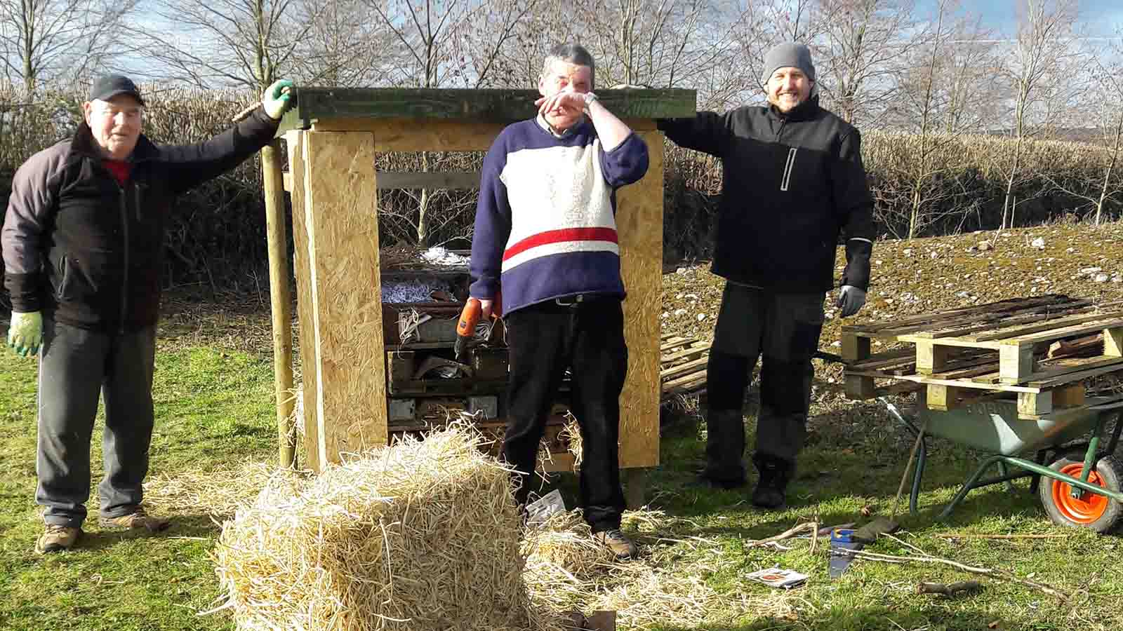 Men's Shed: Promoting Wellbeing