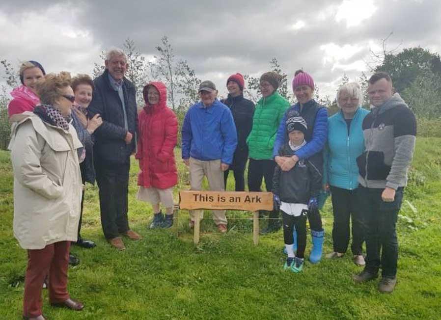 Solas Bhride Centre celebrates Earth Day by building first ARK in Kildare